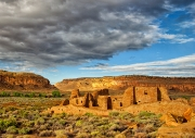 Clouds Over Chaco Canyon