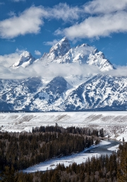 Grand Teton at Snake River