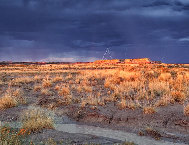 Blue Mesa Lightning